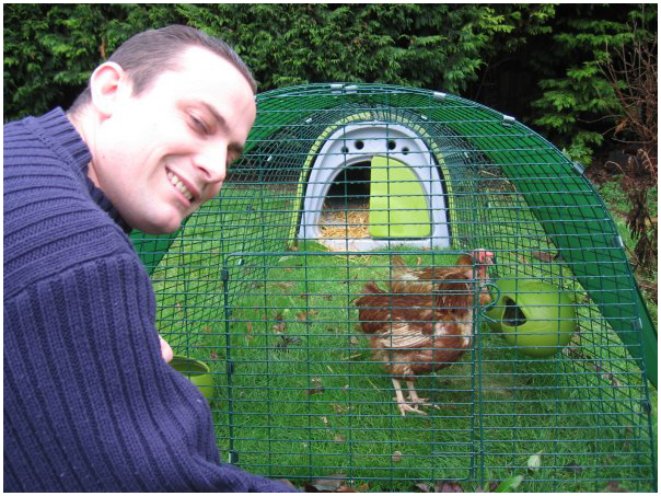 Alexander Buxton and Chickens